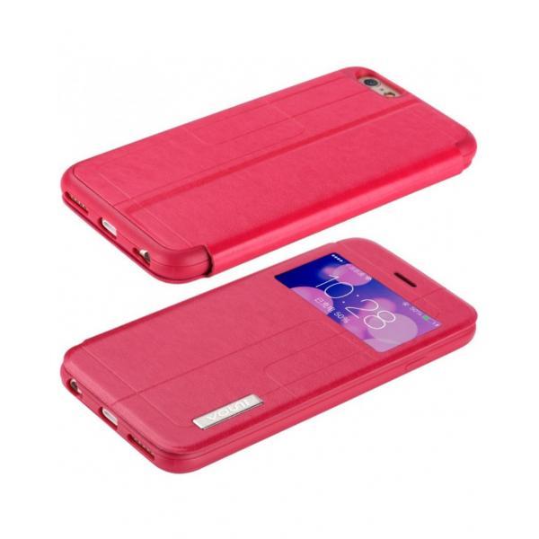 """Husa protectie VOUNI """"Window View"""" pentru iPhone 6 / 6s, rosie 4"""