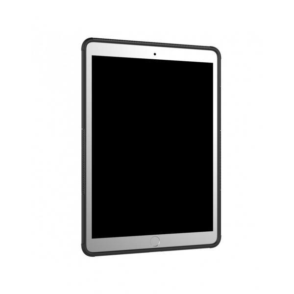 """Carcasa de protectie cu suport din plastic si gel TPU pentru iPad Pro 10.5"""" (2017), neagra 6"""
