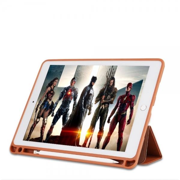 Husa protectie din piele ecologica pentru iPad Pro 10.5 (2017), maro 5