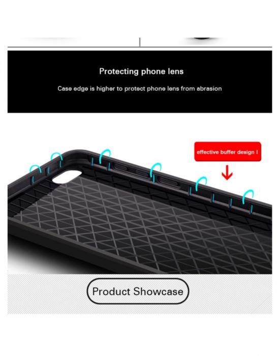 "Carcasa protectie spate ,,Pisica"" pentru Huawei P20 Lite, neagra 2"