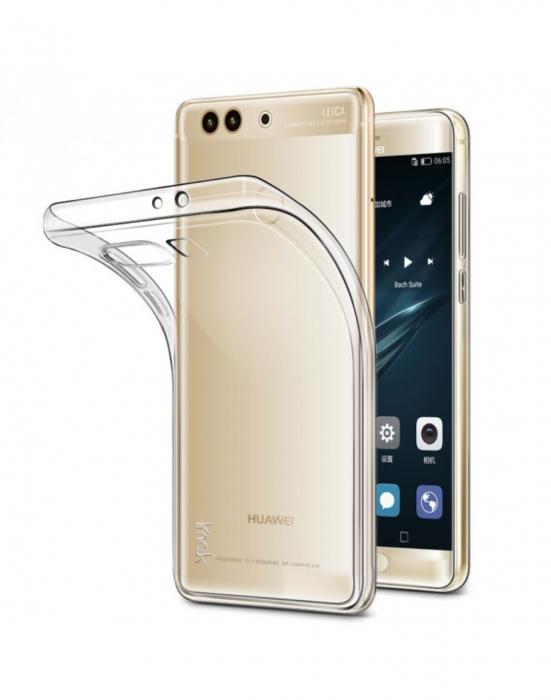 Carcasa de protectie spate IMAK din gel TPU pentru Huawei P10 Plus, transparenta 0