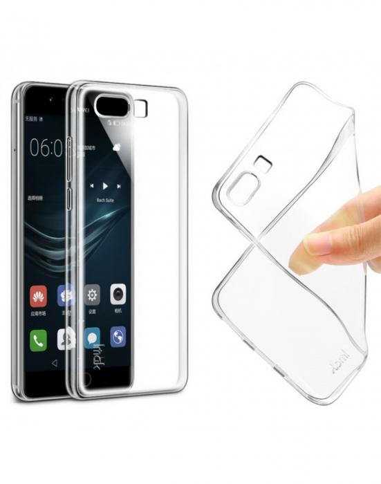 Carcasa de protectie spate IMAK din gel TPU pentru Huawei P10 Plus, transparenta 5