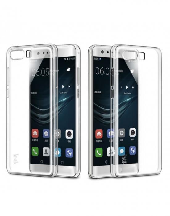 Carcasa de protectie spate IMAK din gel TPU pentru Huawei P10 Plus, transparenta 4