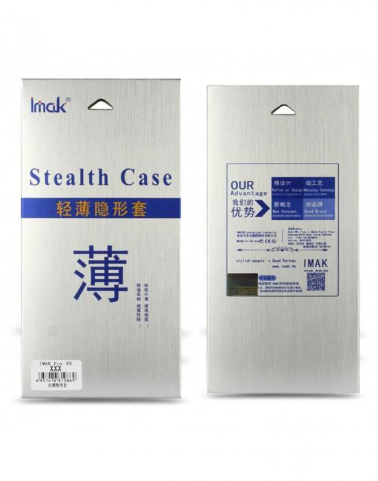 Carcasa de protectie spate IMAK din gel TPU pentru Huawei P10 Plus, transparenta 2