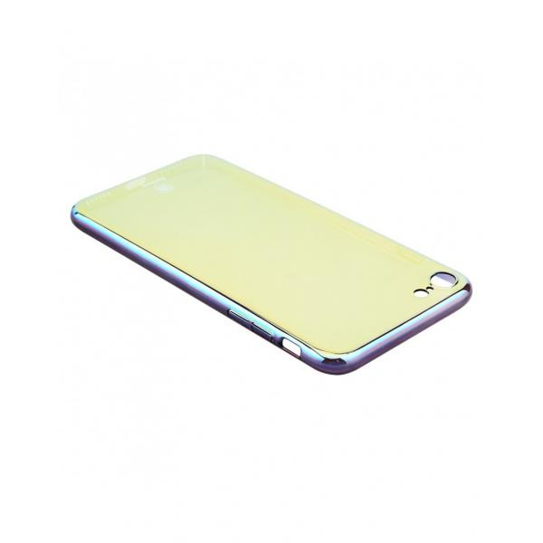 Carcasa protectie spate BASEUS din plastic cu suprafata oglinda pentru iPhone 7 Plus, gold 4