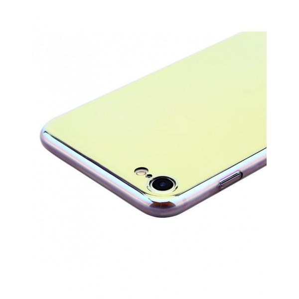 Carcasa protectie spate BASEUS din plastic cu suprafata oglinda pentru iPhone 7 Plus, gold 5