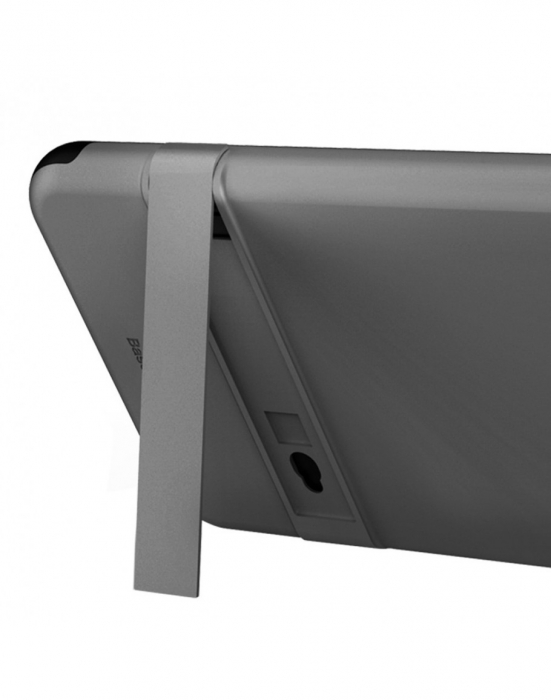 Carcasa protectie spate BASEUS din plastic si gel TPU cu suport pentru iPhone 7 Plus 5.5 inch, gri 8