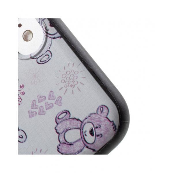 Carcasa protectie spate cu urs Squishy pentru iPhone 7 / iPhone 8 5