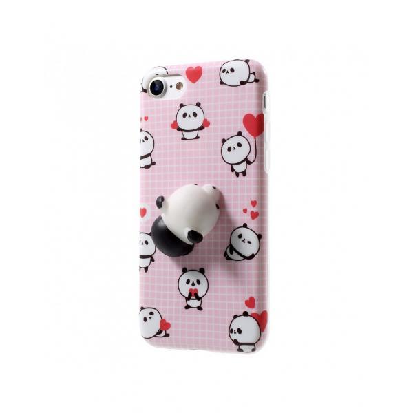 Carcasa protectie spate cu panda Squishy pentru Iphone 7 / iPhone 8 0
