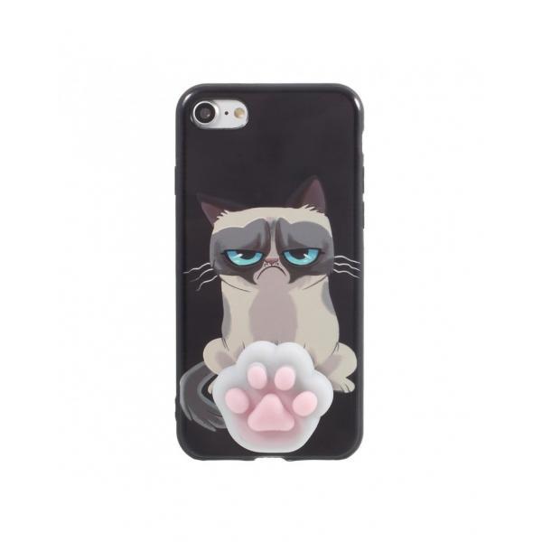 Carcasa protectie spate cu Squishy pentru iPhone 7 / iPhone 8 0