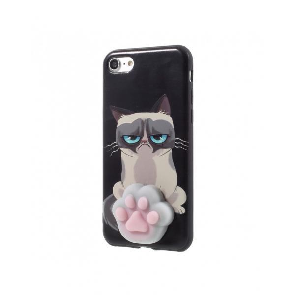 Carcasa protectie spate cu Squishy pentru iPhone 7 / iPhone 8 1