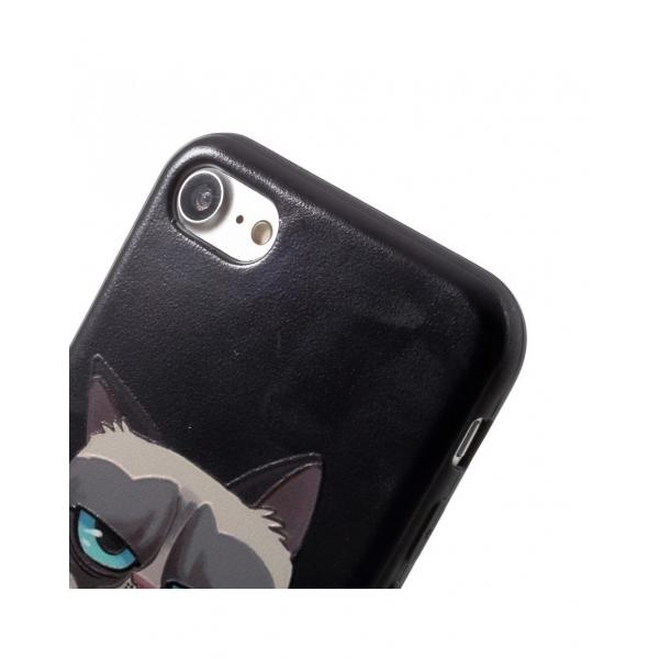 Carcasa protectie spate cu Squishy pentru iPhone 7 / iPhone 8 3