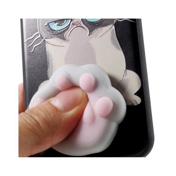 Carcasa protectie spate cu Squishy pentru iPhone 7 / iPhone 8 4