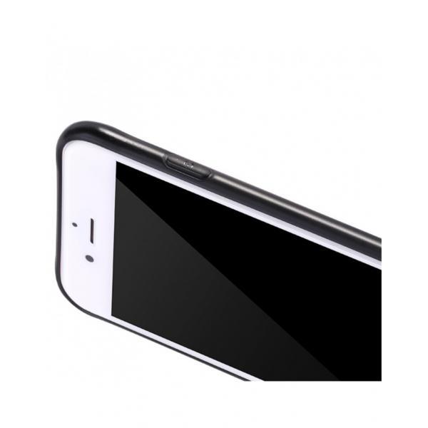 Carcasa protectie spate cu suprafata mata pentru iPhone 7 Plus, neagra 1