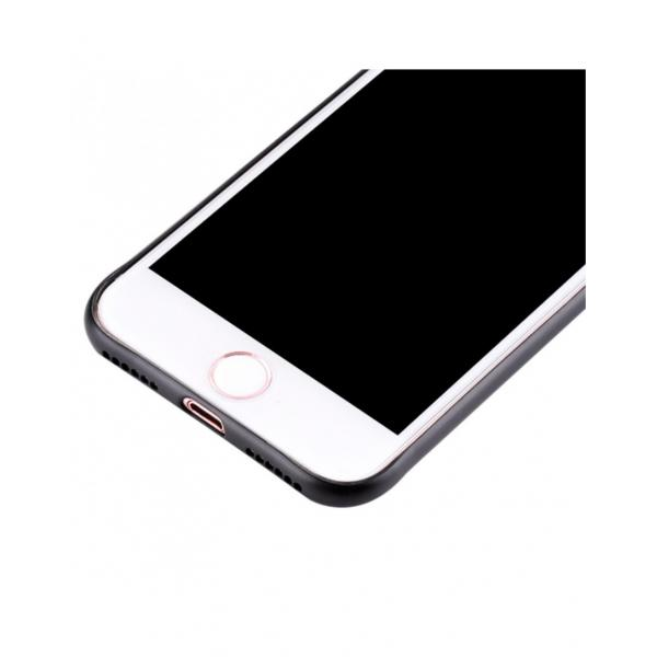 Carcasa protectie spate cu suprafata mata pentru iPhone 7 Plus, neagra 3