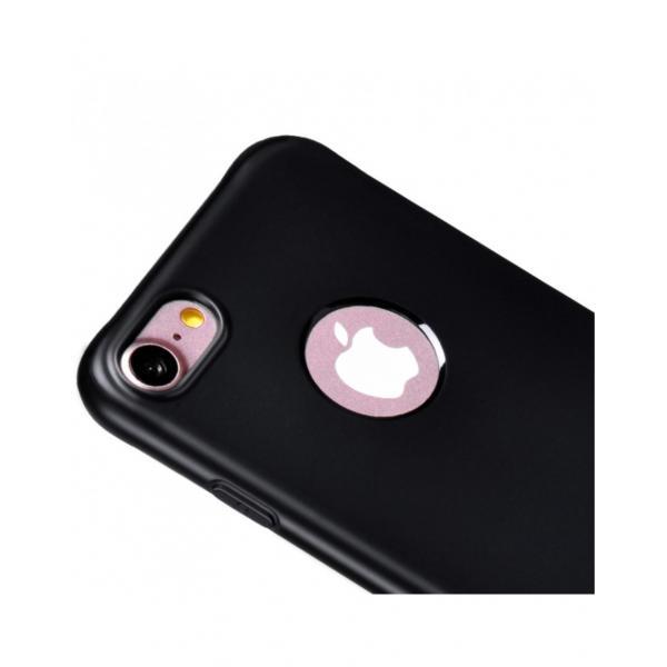 Carcasa protectie spate cu suprafata mata pentru iPhone 7 Plus, neagra 4