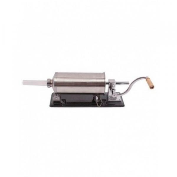 Masina manuala de facut carnati orizontala, inox , 5.5kg, 5 palnii incluse 0