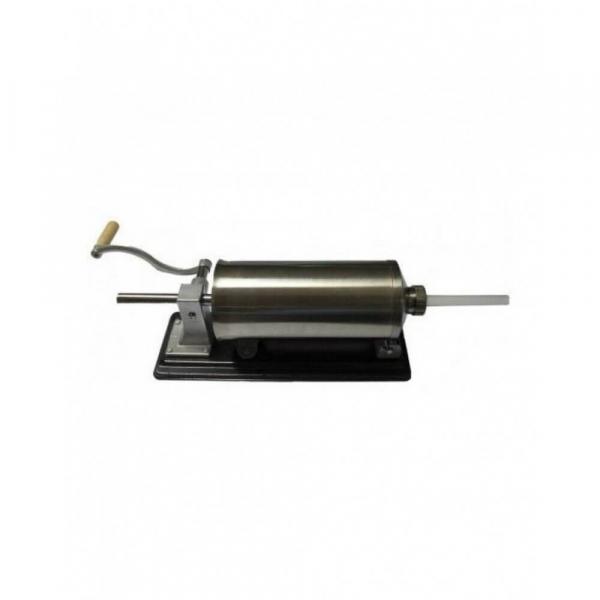 Masina manuala de facut carnati orizontala, inox , 5.5kg, 5 palnii incluse 1