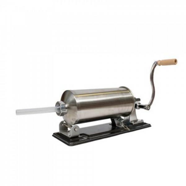 Masina manuala de facut carnati orizontala, inox , 5.5kg, 5 palnii incluse 4