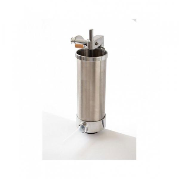 Aparat de umplut carnati vertical, inox , 4kg, 4 palnii incluse 1