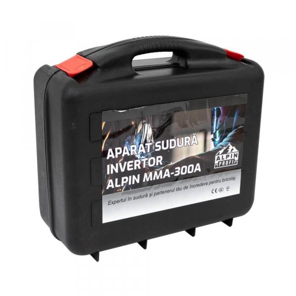 Aparat Sudura SPW Alpin 300A + cutie de transport si depozitare 1