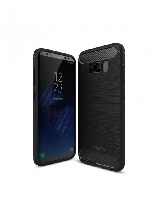 Carcasa protectie AMORUS din gel TPU pentru Samsung Galaxy S8+ G955 0