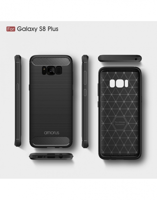 Carcasa protectie AMORUS din gel TPU pentru Samsung Galaxy S8+ G955 2