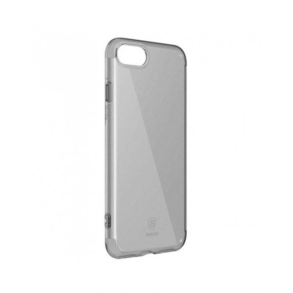 Carcasa protectie BASEUS din gel TPU pentru iPhone 7 4.7 inch, neagra 3