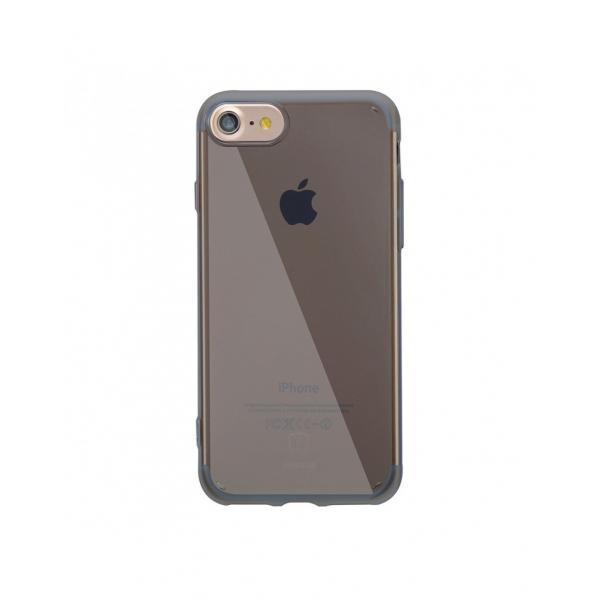 Carcasa protectie BASEUS din gel TPU pentru iPhone 7 4.7 inch, neagra 0