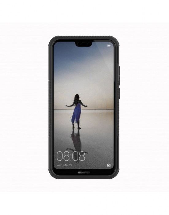 Carcasa protectie spate anti-alunecare pentru Huawei P20 Lite 3
