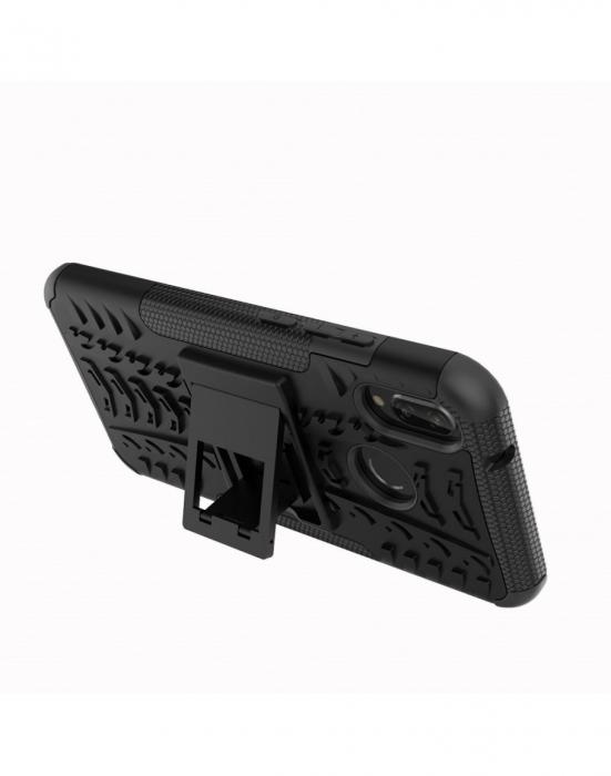 Carcasa protectie spate anti-alunecare pentru Huawei P20 Lite 6