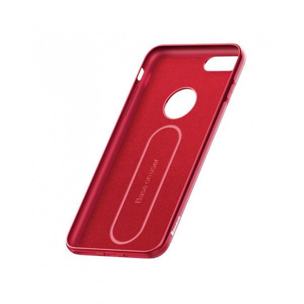 Carcasa protectie spate BASEUS din gel TPU pentru suport magnetic pentru iPhone 7 / iPhone 8 4