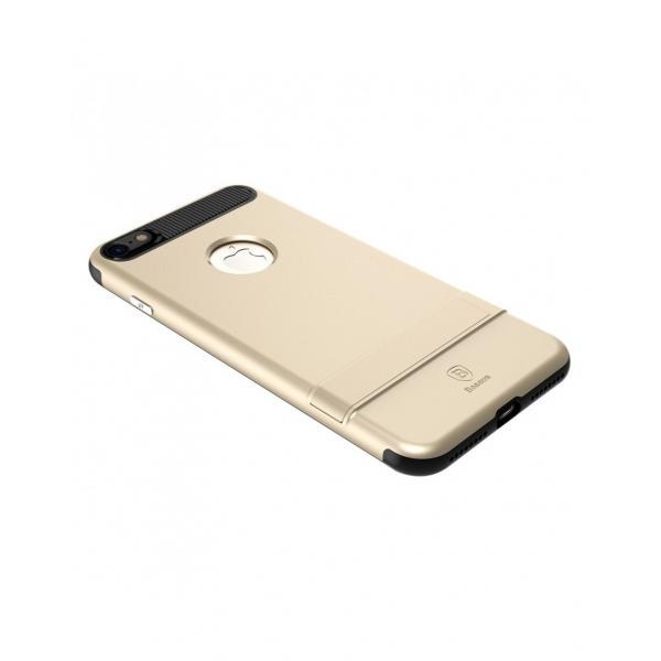Carcasa protectie spate BASEUS din plastic si gel TPU cu suport pentru iPhone 7 4.7 inch 3