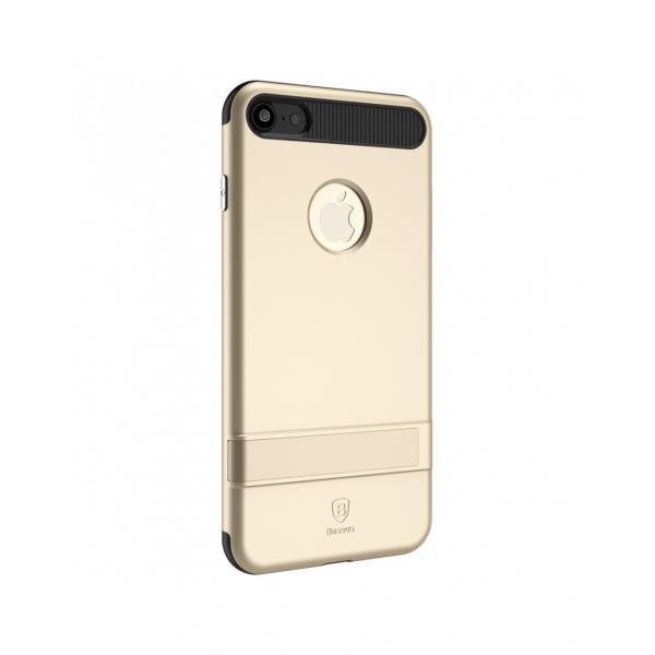 Carcasa protectie spate BASEUS din plastic si gel TPU cu suport pentru iPhone 7 4.7 inch 1