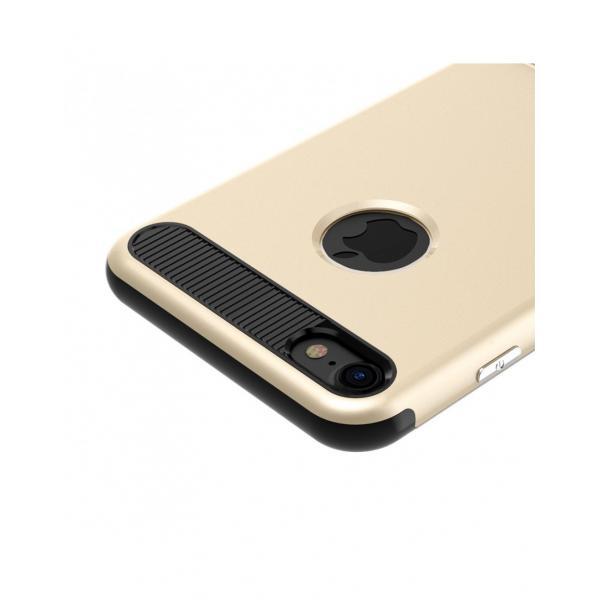 Carcasa protectie spate BASEUS din plastic si gel TPU cu suport pentru iPhone 7 4.7 inch 4