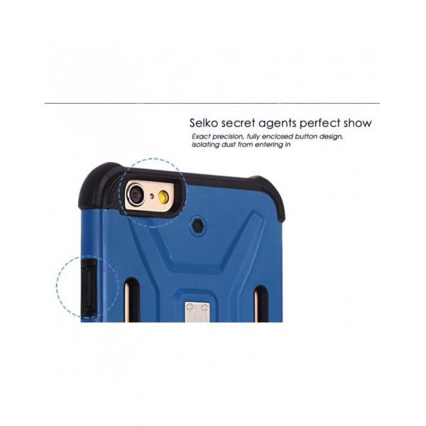 Carcasa protectie spate BENWIS din plastic si gel TPU pentru iPhone 6 / 6s 4