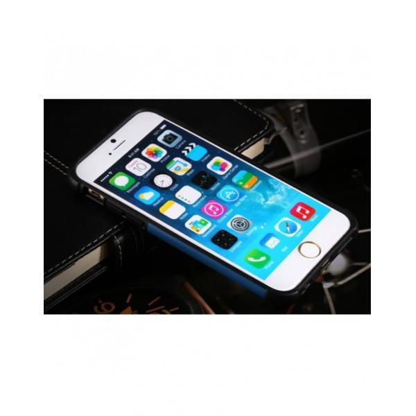 Carcasa protectie spate BENWIS din plastic si gel TPU pentru iPhone 6 / 6s 2