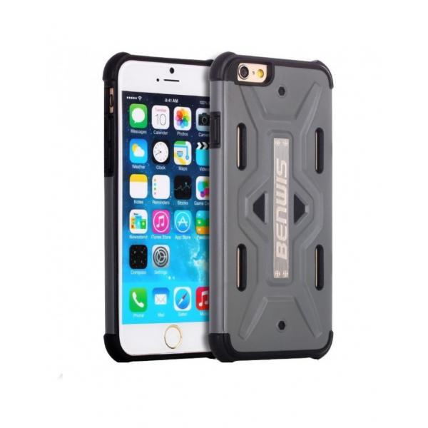 Carcasa protectie spate BENWIS din plastic si gel TPU pentru iPhone 6 / 6s 0