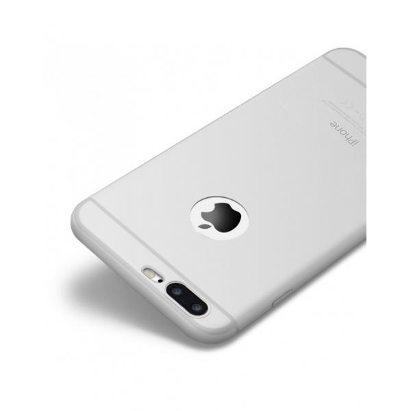 Carcasa protectie spate CAFELE din silicon pentru iPhone 7 Plus 0