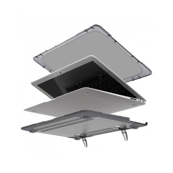 Carcasa protectie spate Heavy Duty cu suport pentru MacBook Air 13.3 inch - amiplus.ro 18