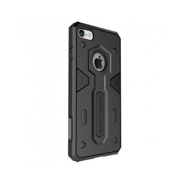 Carcasa protectie spate Defender II pentru iPhone 7 4.7 inch, neagra 0