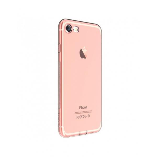 Carcasa protectie spate DEVIA din gel TPU pentru iPhone 7 0