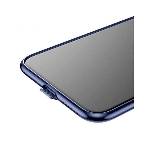 Carcasa protectie spate din gel TPU cu dopuri anti-praf pentru iPhone X 5.8 inch - amipus.ro 3