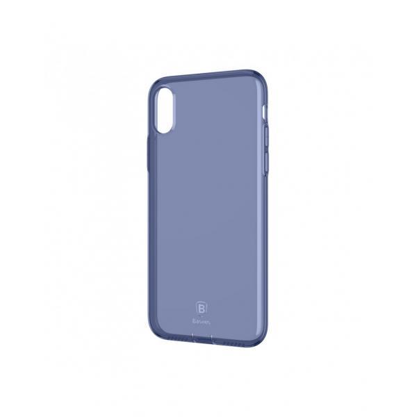 Carcasa protectie spate din gel TPU cu dopuri anti-praf pentru iPhone X 5.8 inch - amipus.ro 0