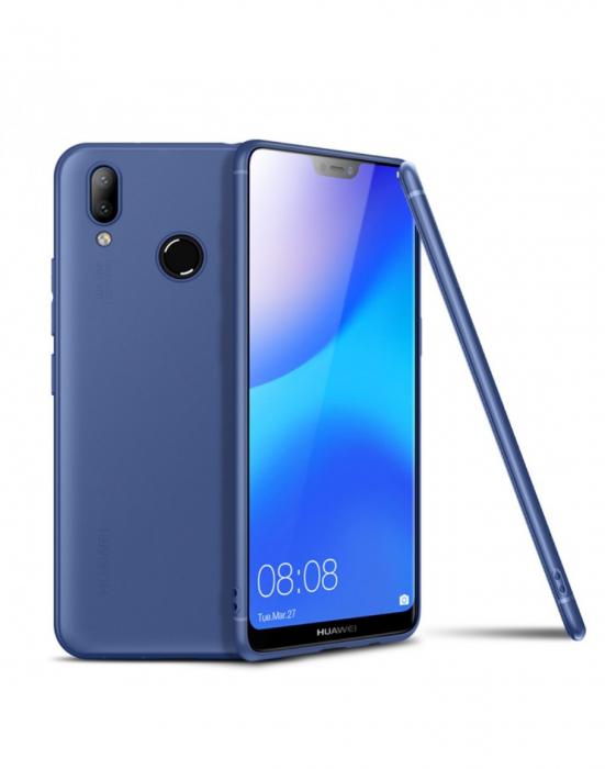 Carcasa protectie spate din gel TPU pentru Huawei P20 Lite 0