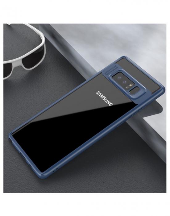 Carcasa protectie spate din gel TPU si acrilic pentru Samsung Galaxy Note 8 1