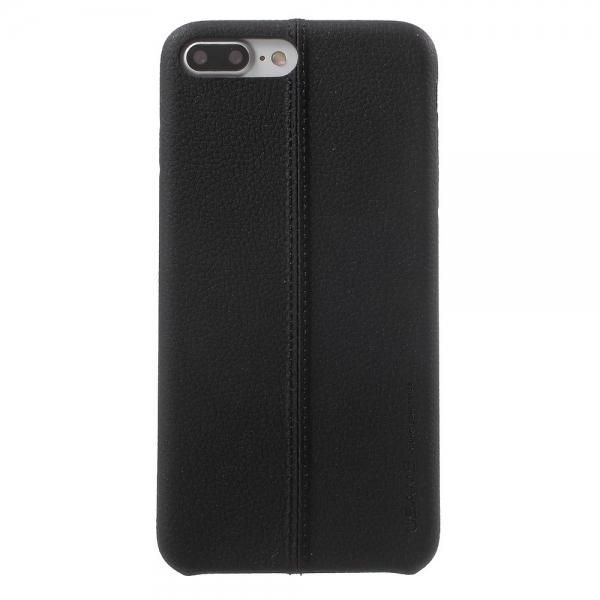 Carcasa protectie spate din piele ecologica si plastic pentru iPhone 8 / 7 4.7 inch 0