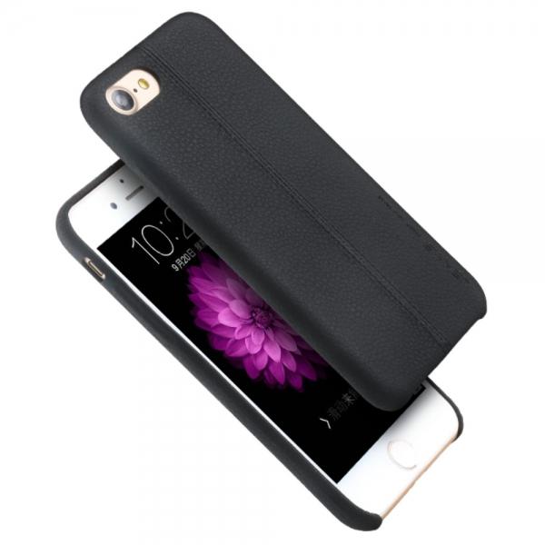 Carcasa protectie spate din piele ecologica si plastic pentru iPhone 8 / 7 4.7 inch 2