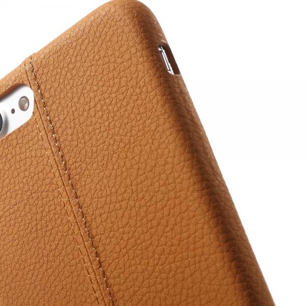 Carcasa protectie spate din piele ecologica si plastic pentru iPhone 8 Plus / 7 Plus 5.5 inch 2