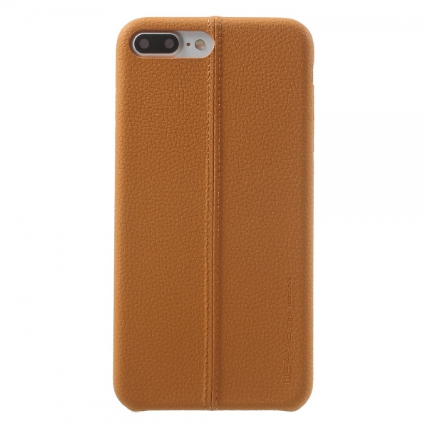 Carcasa protectie spate din piele ecologica si plastic pentru iPhone 8 Plus / 7 Plus 5.5 inch 0